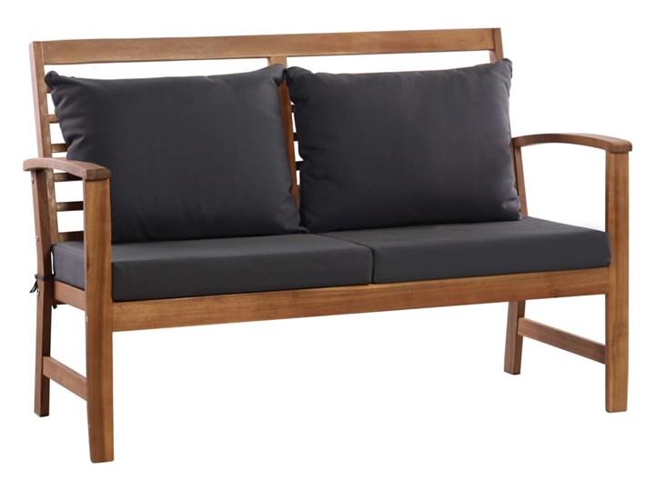 vidaXL 4-cz. zestaw wypoczynkowy do ogrodu, poduszki, drewno akacjowe Kategoria Zestawy mebli ogrodowych Stoły z krzesłami Zestawy wypoczynkowe Zawartość zestawu Stół