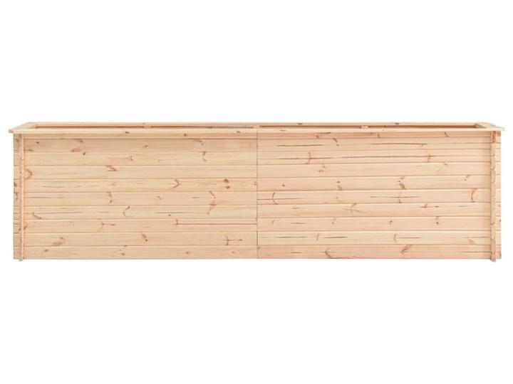 vidaXL Podwyższona donica, 300x50x80,5 cm, drewno sosnowe, 19 mm Donica balkonowa Donica ogrodowa Prostokątny Kategoria Donice ogrodowe