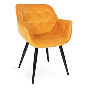 Krzesło BIN żółty