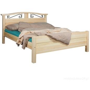 Łóżko Korfu drewniane nowy model