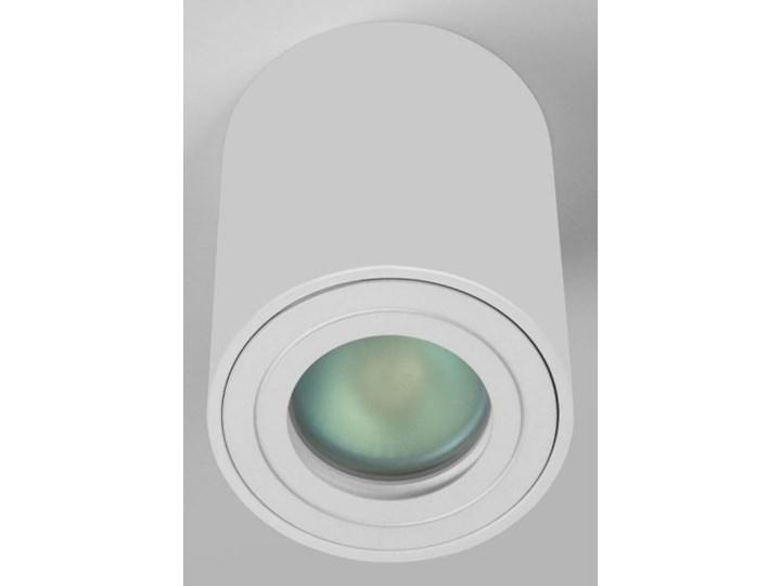 Sufitowa oprawa natynkowa IP65, okrągła, tuba, biały mat aluminiowa Oprawa led Oprawa halogenowa Okrągłe Oprawa stropowa Kategoria Oprawy oświetleniowe