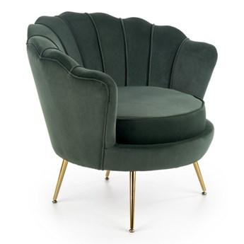 Fotel Amorinito Ciemny zielony