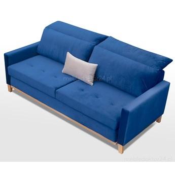 Sofa rozkładana Riviera welurowa