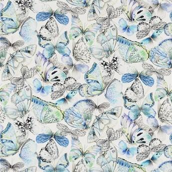 Zasłona Designers Guild Papillons Cobalt