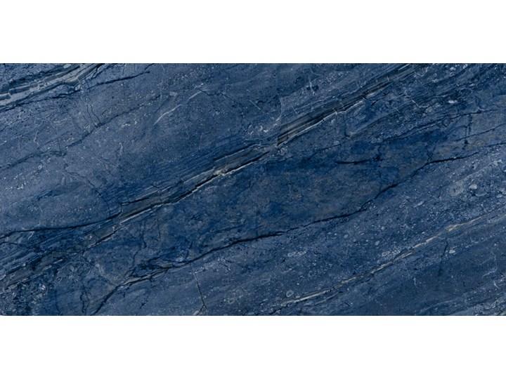 Milos Blue 60x120 płytki podłogowe Płytki kuchenne Płytki ścienne Kolor Granatowy 60x120 cm Prostokąt Gres Kolor Biały
