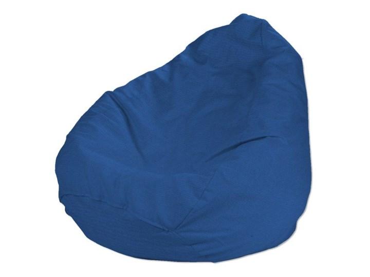 Worek do siedzenia, niebieski, Ø50 × 85 cm, Jupiter Tworzywo sztuczne Tkanina Siedzisko Kategoria Pufy