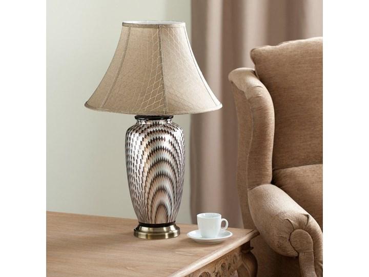 Lampa stołowa Maiko ceramiczna 71cm, 71 cm Lampa z kloszem Kategoria Lampy stołowe