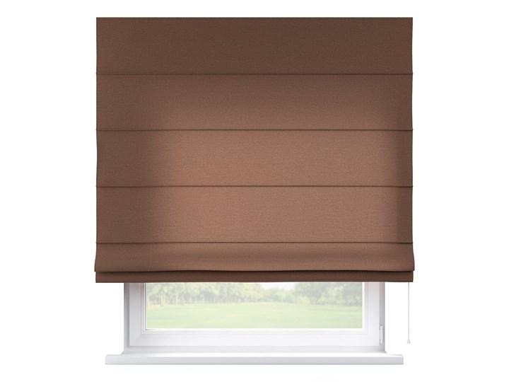 Roleta rzymska Capri, brązowy, szer.80 × dł.170 cm, Loneta Pomieszczenie Pokój przedszkolaka