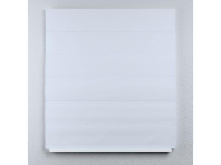 Roleta rzymska Duo, szaro-biały, szer.130 × dł.170 cm, Blackout - zaciemniające Roleta woalowa Pomieszczenie Jadalnia