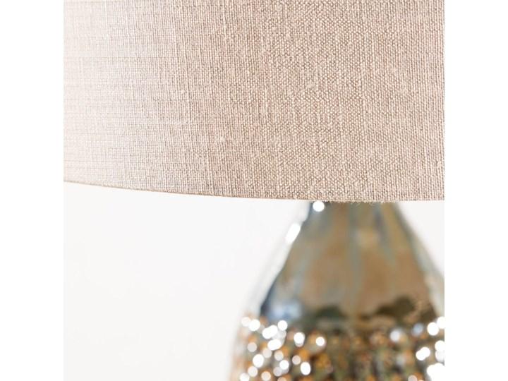 Lampa stołowa Royal Green wys. 67cm, 45 × 45 × 67 cm Lampa z kloszem Kolor Szary