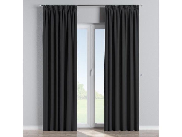 Zasłona zaciemniająca na taśmie 1 szt., czarny, 1szt 140 × 260 cm, Blackout - zaciemniające Poliester Zasłona prześwitująca Mocowanie 140x260 cm Pomieszczenie Salon