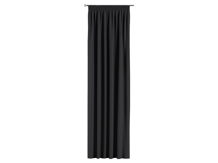 Zasłona zaciemniająca na taśmie 1 szt., czarny, 1szt 140 × 260 cm, Blackout - zaciemniające Poliester 140x260 cm Zasłona prześwitująca Mocowanie Pomieszczenie Sypialnia