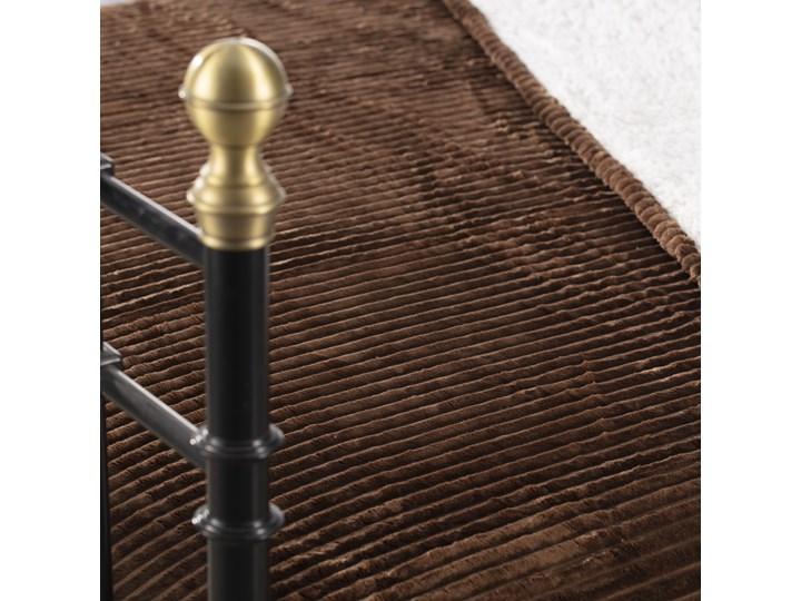 Narzuta Andora Brown 230x200cm, 230 x 200 cm Pled Poliester Wełna 200x230 cm Pomieszczenie Sypialnia