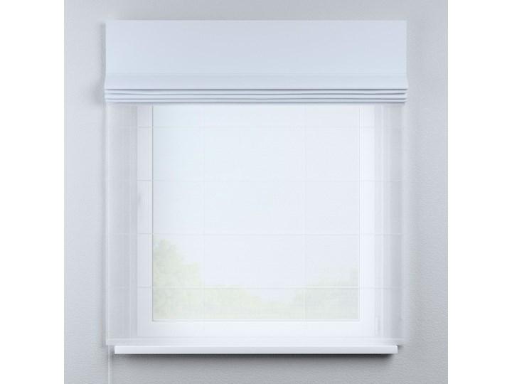 Roleta rzymska Duo, szaro-biały, szer.130 × dł.170 cm, Blackout - zaciemniające Roleta woalowa Pomieszczenie Pokój nastolatka