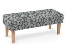Ławka, brązowo-beżowe wzory, 100 × 40 × 40 cm, Wyprzedaż do -50%