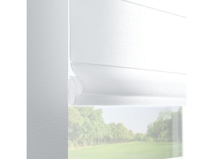 Roleta rzymska Verona, prześwitująca, biała, szer.80 × dł.170 cm, Romantica Kolor Biały