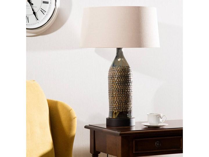 Lampa stołowa Royal Green wys. 67cm, 45 × 45 × 67 cm Kolor Srebrny Lampa z kloszem Kategoria Lampy stołowe