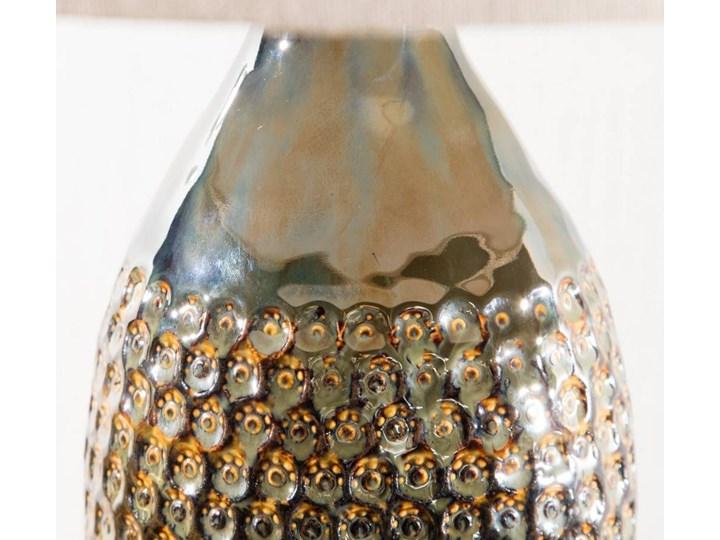 Lampa stołowa Royal Green wys. 67cm, 45 × 45 × 67 cm Lampa z kloszem Kategoria Lampy stołowe Kolor Srebrny