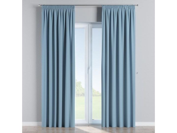 Zasłona zaciemniająca na taśmie 1 szt., niebieski, 1szt 140 × 260 cm, Blackout - zaciemniające 140x260 cm Mocowanie Szelki Poliester Pomieszczenie Salon