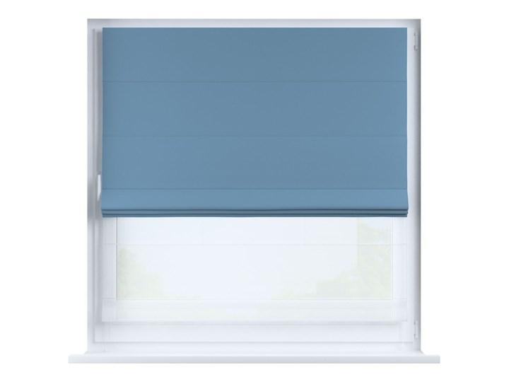 Roleta rzymska Duo, niebieski, szer.130 × dł.170 cm, Blackout - zaciemniające Roleta woalowa Pomieszczenie Pokój przedszkolaka