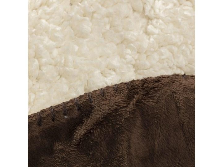 Pled Wolle brown 130x160cm, 130×160cm 130x170 cm Wełna Poliester 130x160 cm Bawełna Kolor Brązowy