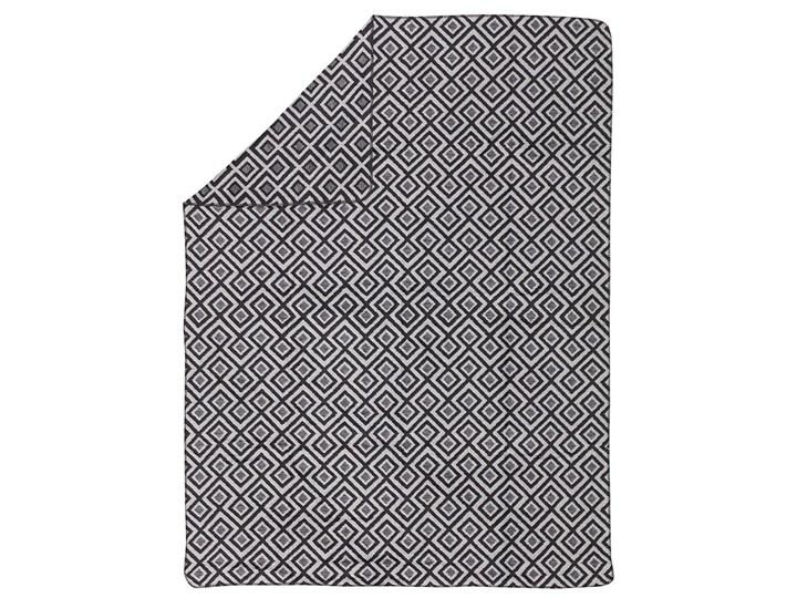 Koc Cotton Cloud 150x200cm Square, 150 x 200 cm Bawełna 150x200 cm Akryl Wzór Geometryczny