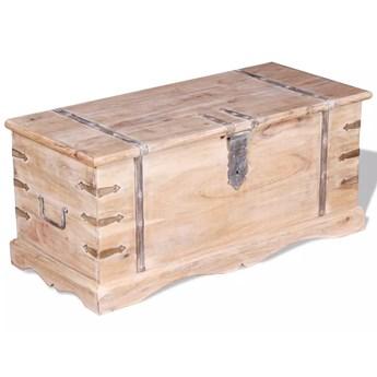 vidaXL Skrzynia z drewna akacjowego