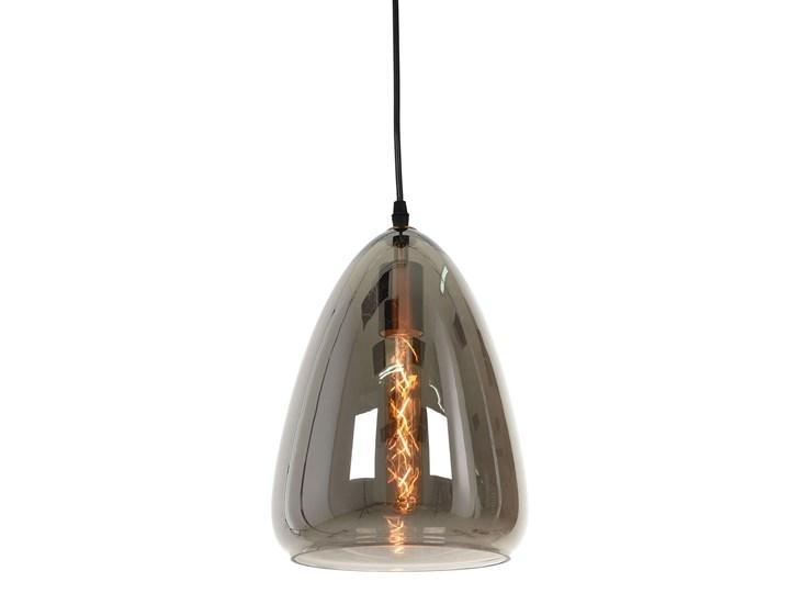 NOWOCZESNA LAMPA WISZĄCA LOFT DYMIONA BRAGA Kategoria Lampy wiszące Lampa z abażurem Lampa z kloszem Metal Szkło Mosiądz Styl Industrialny
