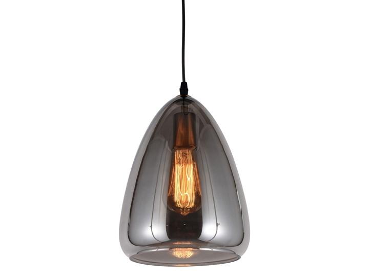 NOWOCZESNA LAMPA WISZĄCA LOFT DYMIONA BRAGA Lampa z kloszem Metal Lampa z abażurem Mosiądz Szkło Styl Industrialny