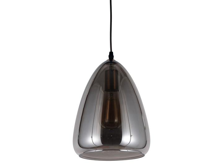 NOWOCZESNA LAMPA WISZĄCA LOFT DYMIONA BRAGA Lampa z abażurem Mosiądz Metal Szkło Lampa z kloszem Styl Nowoczesny