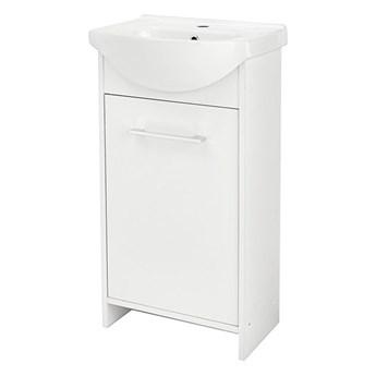 Szafka z umywalką Deftrans Blanka 45 cm biała