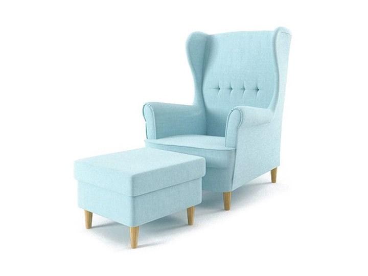 Fotel USZAK +podnóżek Kolor Fotel z podnóżkiem Kolor