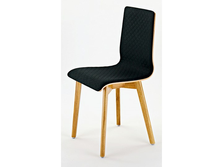 LUKA SOFT W krzesło dębowe, pikowana grafitowa tkanina Drewno Wysokość 48 cm Płyta MDF Wysokość 87 cm Pikowane Tapicerowane Pomieszczenie Jadalnia Głębokość 40 cm Szerokość 40 cm Głębokość 41 cm Kategoria Krzesła kuchenne