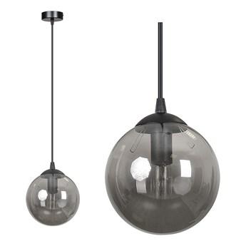 COSMO 1 BL GRAFIT lampa wisząca szklany klosz kula zwis nowoczesny