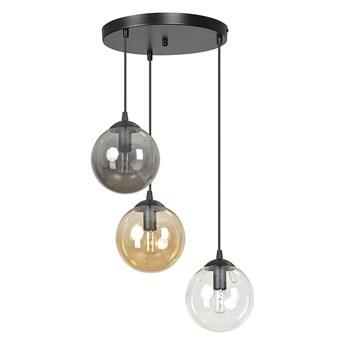 COSMO 3 BL MIX PREMIUM lampa wisząca klosze kule regulowana nowoczesna