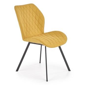 Pikowane krzesło na czterech nogach K360