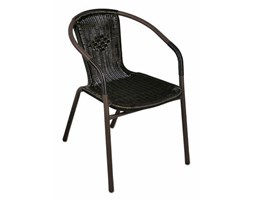 Krzesło polirattanowe 2 szt. krzesła ogrodowe