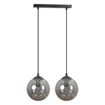 COSMO 2 BL GRAFIT lampa wisząca klosze kule regulowana wysokość nowoczesna