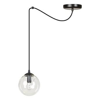 GIGI 1 BL TRANSPARENT 936/1 lampa wisząca szklany klosz kula zwis nowoczesny