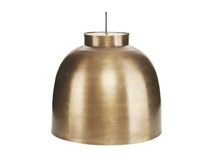 Lampa wisząca Bowl Ø35cm mosiądz Lampy wiszące Homebook