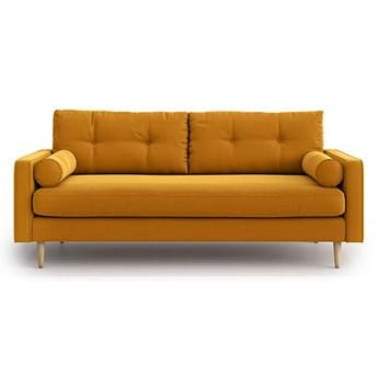 Sofa Esme 3-osobowa, Golden Velvet