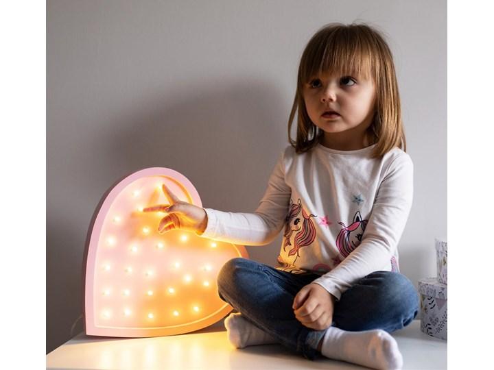 Lampa nocna do pokoju dziecka Lights My Love Serce