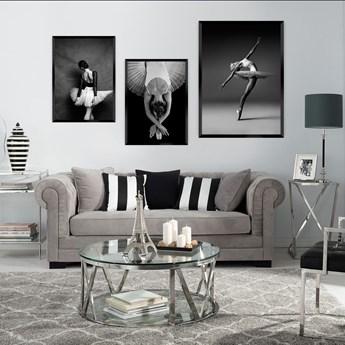 Plakat Ballerina I, 40 x 50 cm, Ramka: Srebrna