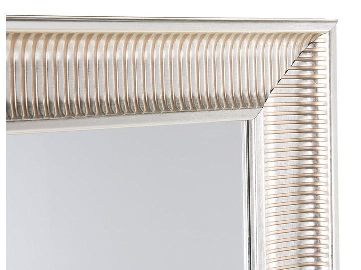 Lustro wiszące złote 60 x 90 cm syntetyczna rama styl nowoczesny glam Ścienne Prostokątne Lustro z ramą Kategoria Lustra