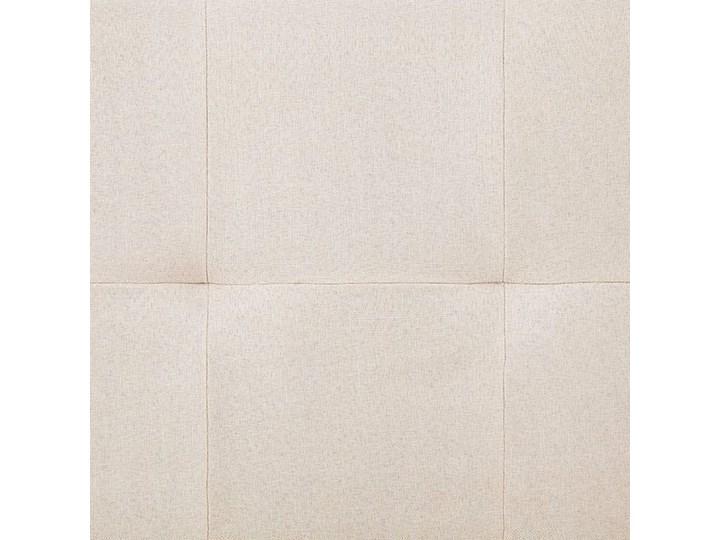 Kanapa Simona z rozkładanym oparciem - kremowa Wersalka Szerokość 77 cm Boki Bez boków
