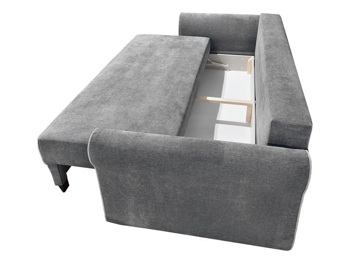 Sofa NEW YORK z funkcją spania Wielkość Trzyosobowa Stała konstrukcja Kolor Szary