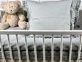 Lniana poszewka na poduszkę z falbankami Pearl Grey Pearl Grey 40x60 cm 100 % lnu Len Kolor Szary