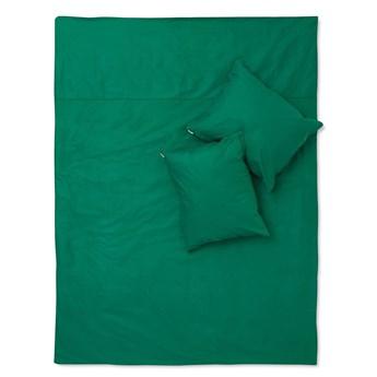 Pościel butelkowa zieleń bawełna basic