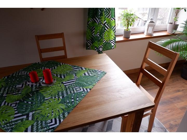 Stół dębowy Natur 180 + 2x40cm Soolido Meble Szerokość 80 cm Długość 180 cm  Szerokość 90 cm Drewno Rozkładanie Rozkładane