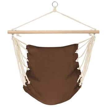 vidaXL Fotel hamakowy Belize brąz (100 x 80  cm)
